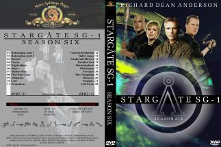 Stargate SG-1 DVD Season 6 - Main cover - English - Barokna.jpg