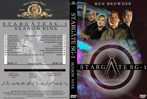Stargate SG-1 DVD Season 9 - Main cover - English - Barokna_and_Honza_SGA.jpg